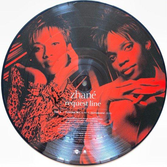 ZHANÉ / REQUEST LINE /Hey MR. D.J. (Remix)(1996 US ORIGINAL PROMO ONLY RARE PRESSING)