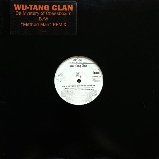 WU-TANG CLAN / DA MYSTERY OF CHESSBOXIN' b/w METHOD MAN (REMIX) (1993 US PROMO ONLY)