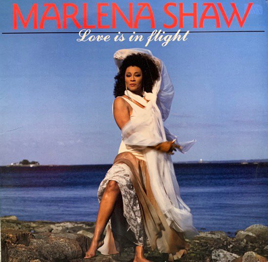 MARLENA SHAW / LOVE IS IN FLIGHT (1988 US ORIGINAL)
