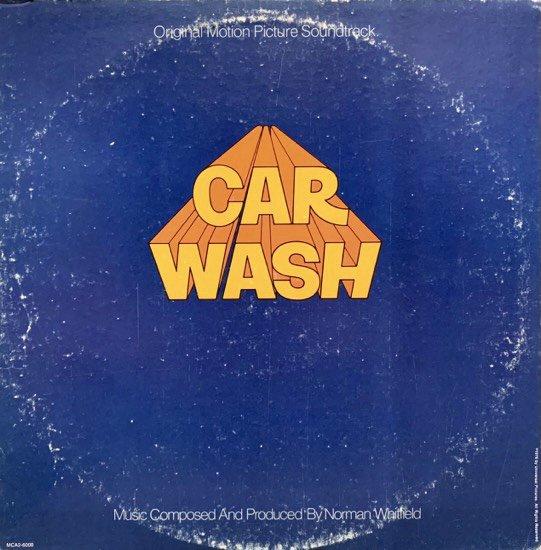 NORMAN WHITFIELD / CAR WASH (ORIGINAL MOTION PICTURE SOUNDTRACK)(1976 US ORIGINAL)