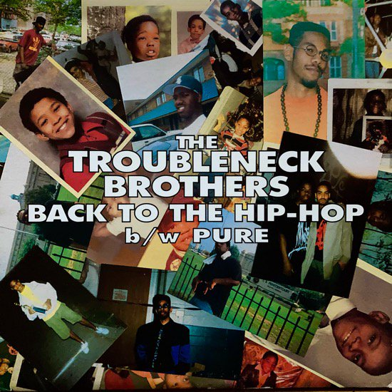 THE TROUBLENECK BROTHERS / BACK TO THE HIP-HOP b/w PURE (1994 US ORIGINAL)