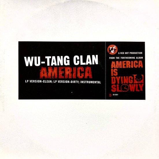 WU- TANG CLAN / AMERICA (1996 US PROMO ONLY)