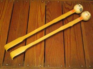 竹製孫の手(仲良し老夫婦)2本セット