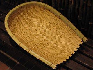 竹製米揚げざる(安来)ソーキ(7升)