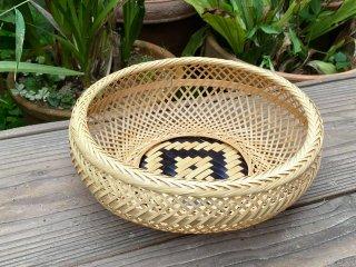 晒竹盛篭 鉄鉢(てっぱち)盛りかご