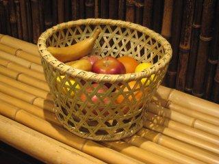 篠竹椀篭(小) ごかご 鉢カバー