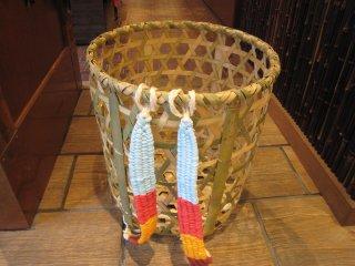 竹製背負い篭(六つ目)大(かごめ)
