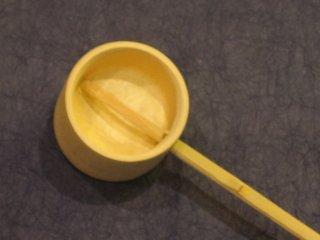 竹製柄杓(ひしゃく)大 つくばい 打ち水