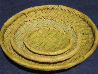 篠竹 丸(8寸)24cm
