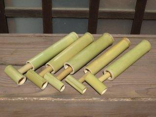 竹の水鉄砲(5個セット)