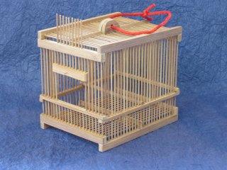 竹製虫篭(小)虫かご