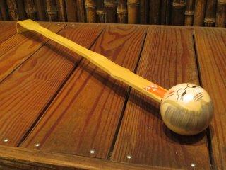 竹製孫の手(おばあちゃん)木玉トントン