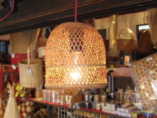 竹製ランプシェイド(小ヒゴ)