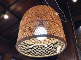 竹製ランプシェイド(小ヒゴ)特大