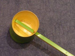 竹製柄杓(若竹)つくばい 打ち水