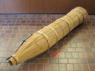 竹製ず(超特大)うなぎ(4尺強)捕獲・仕掛け