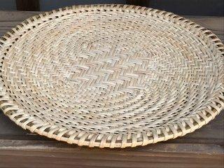 マタタビざる(盆)大 30cm 蕎麦ざる