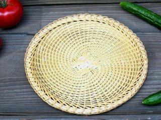 あやざる(盆)8寸弱 23.5cm 蕎麦ざる