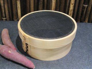 天然桧の裏ごし(馬毛)8寸 24cm 漉し器