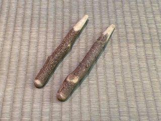 天然山椒すりこぎ棒(豆)2個セット