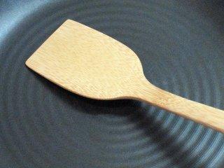 竹製返しベラ(カ〜ブ)返しやすい