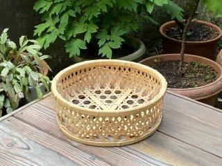 晒竹椀篭(中)白竹