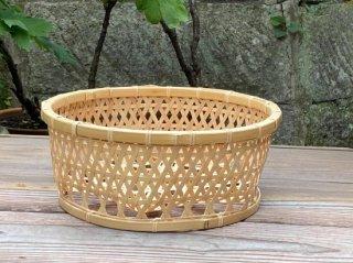 晒竹椀篭(中ちょい深)白竹