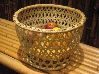 篠竹椀篭(大) ごかご 鉢カバー