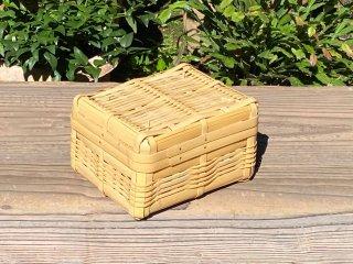 晒竹ランチボックス(白竹)弁当箱(小)深