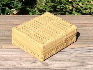 晒竹ランチボックス(白竹)弁当箱(大)