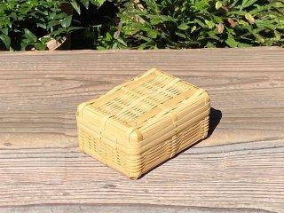 晒竹ランチボックス(白竹)弁当箱(小)