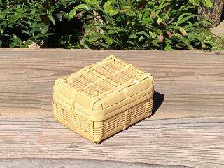 晒竹ランチボックス(白竹)弁当箱(小)ちょい深