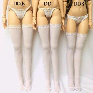 サイハイハイソックス / 白( DD,DDdy)各1,300円*オーバーニーソックス/白(DDS,MDD)1,200円
