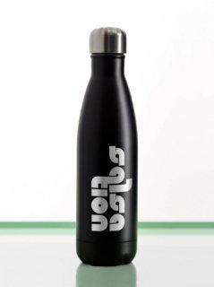 G04.Stainless Steel Reusable Bottle - Matte Black