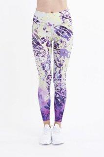 B44.Palm Tie Dye Leggings