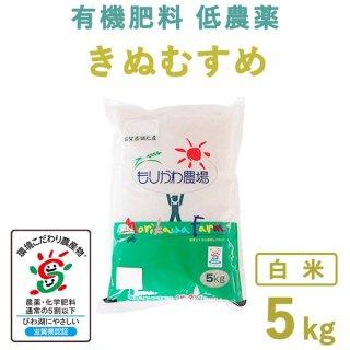 【新米】滋賀県産 きぬむすめ白米5kg