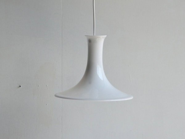 Glass Lamp/Holmegaard Mandarin Pendel (L)