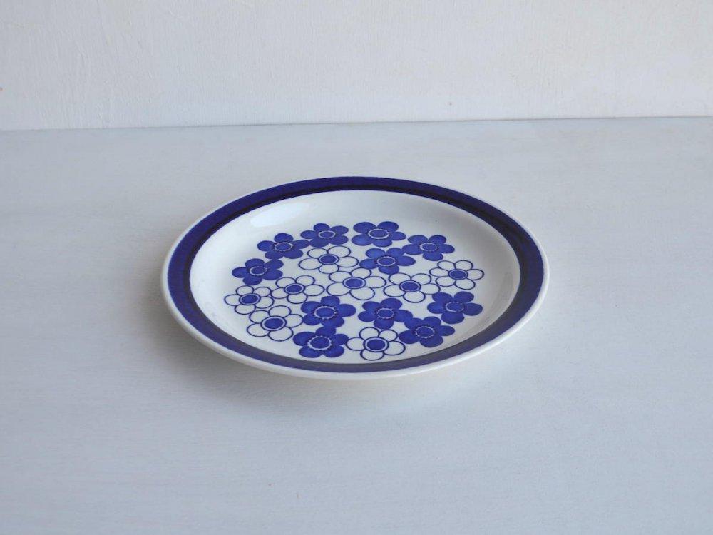 Plate (L) /Anemon Blue
