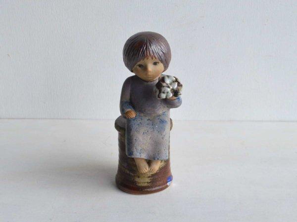 Lisa Larson SkulpturervBlomsterflicka