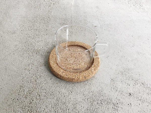 Glass Mug & Saucer ( 2 ) / Boda Nova