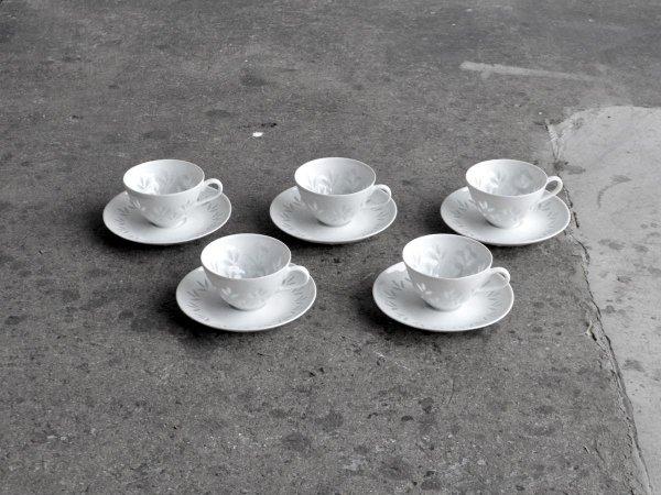 Demi  Cup & Saucer /Riisi (Rice)