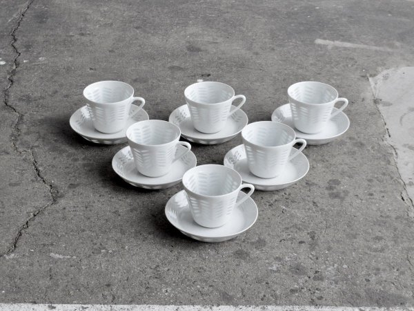 Coffee Cup & Saucer / Riiisi (Rice)