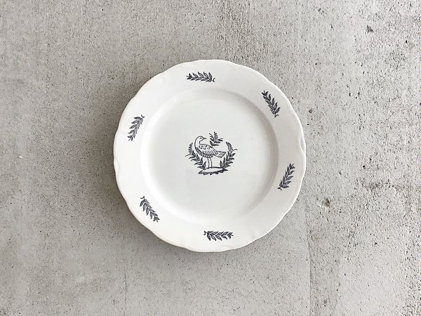 Plate  /  Fagel Bla