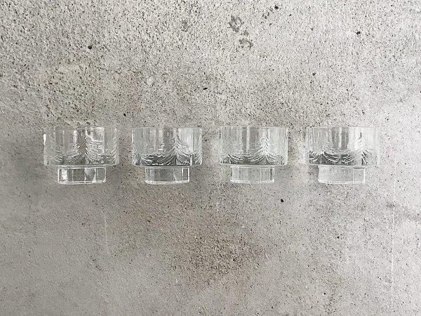 Glass Candle Holder  /  Kuusi