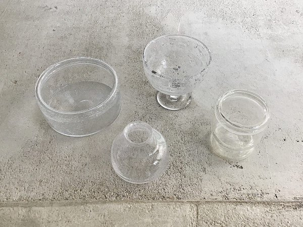 Glass Compote( 4 )