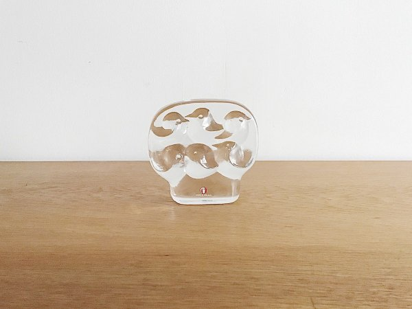 Glass Object  /  Lintupuu