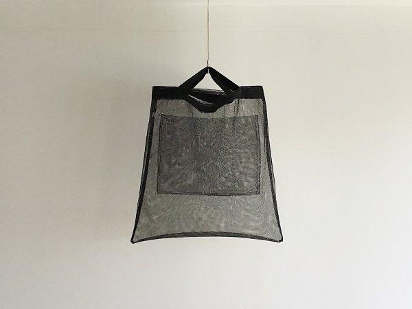 Mesh Bag  /  黒×黒(短)