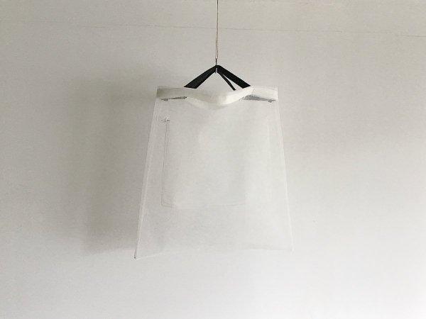 Mesh bag  /  キナリ×黒(短)
