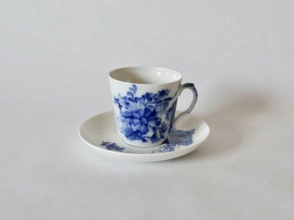 Demi Cup & Saucer / Blue Flower