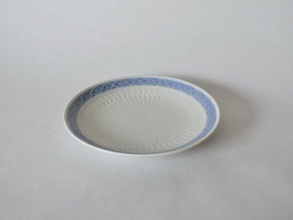 Plate (S) / Blue Fan